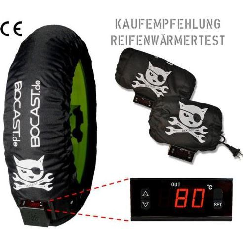 Reifenwärmer DIGITAL Supermoto Moto GP Superbike Profiversion 160-180 x17